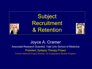 Subject  Recruitment & Retention