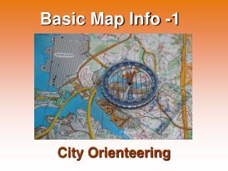 Basic Map Info -1