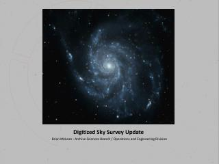 Digitized Sky Survey Update