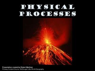 Physical Processes