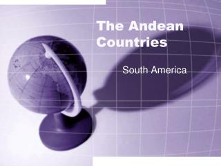 The Andean Countries