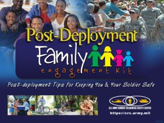 Post-Deployment Family Engagement Kit