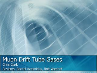 Muon Drift Tube Gases