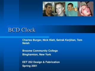BCD Clock