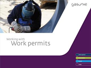 WORK PERMITS  What is the purpose of work permits?