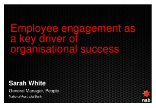 Engaging and Inspiring Employees