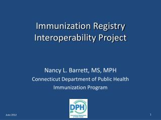 Immunization Registry Interoperability Project