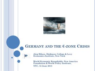 Germany and the €-zone Crisis