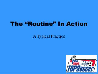 "The ""Routine"" In Action"
