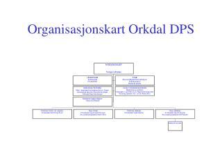 Organisasjonskart Orkdal DPS