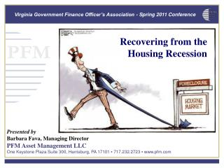 Recovering from the Housing Recession
