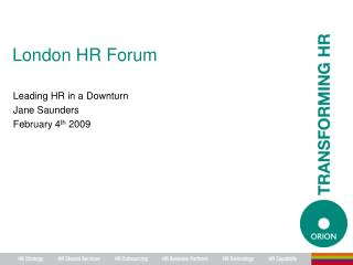 London HR Forum