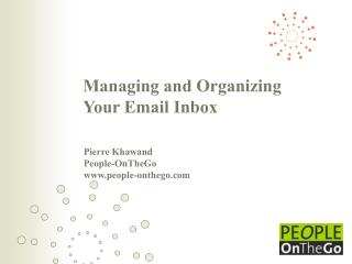 Managing and Organizing Your Email Inbox