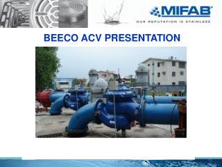 BEECO ACV PRESENTATION