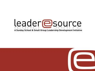 Leader esource Purpose Statement