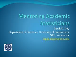 Mentoring Academic Statisticians
