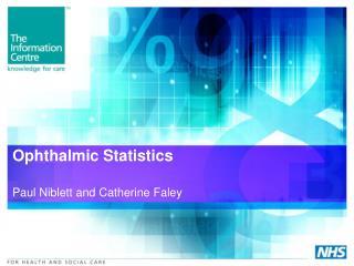Ophthalmic Statistics