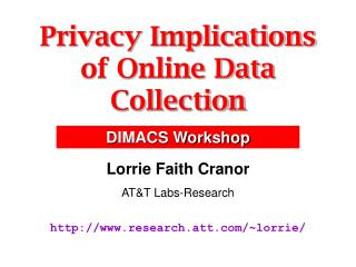 Privacy Implications of Online Data Collection