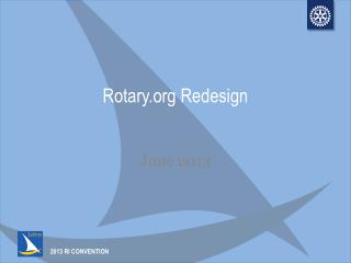 Rotary.org Redesign