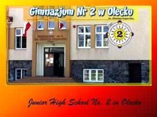Junior High  School  No. 2 in  Olecko