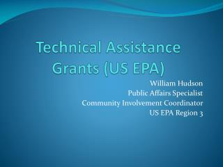 Technical Assistance Grants (US EPA)