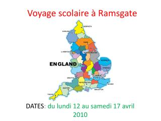 Voyage scolaire � Ramsgate