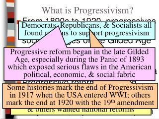 What is Progressivism?