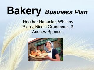 Business plan for a bakery: Cupcakes from heaven