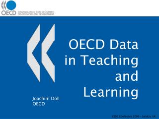 OECD Data in Teaching and Learning