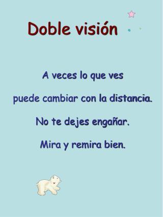 Doble visión
