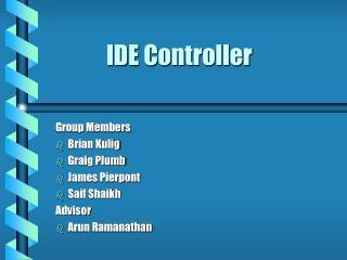 IDE Controller