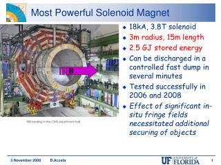 Most Powerful Solenoid Magnet