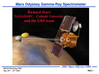 Mars Odyssey Gamma-Ray Spectrometer