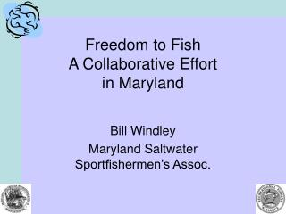 Freedom to Fish A Collaborative Effort in Maryland