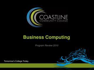 Program Review 2010