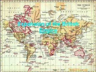 Expansion of the British Empire