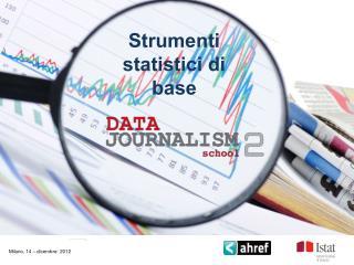 Strumenti statistici di base