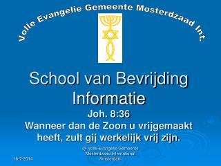 Volle Evangelie Gemeente Mosterdzaad Int.