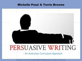 Michelle  Pozzi  &  Torrie  Browne