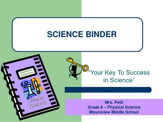 SCIENCE BINDER