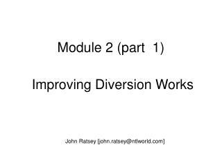 Module 2 (part  1)