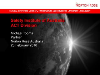 Safety Institute of Australia ACT Division