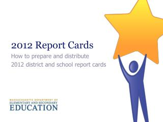 2012 Report Cards