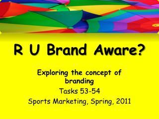 R U Brand Aware?