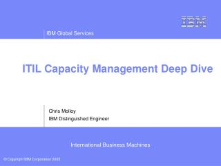 ITIL Capacity Management Deep Dive