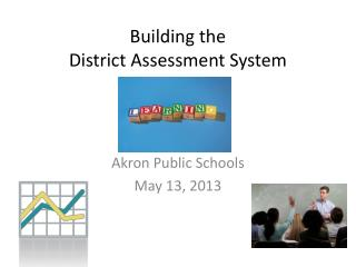 Building the  District Assessment System