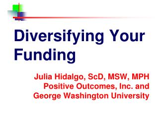 Diversifying Your Funding
