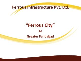 Ferrous Infrastructure Pvt. Ltd.