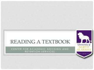 Reading A Textbook