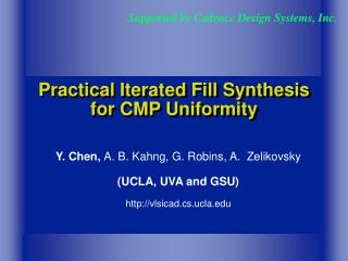 Practical Iterated Fill Synthesis for CMP Uniformity